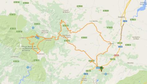 Mapa Marcha Bedelalsa